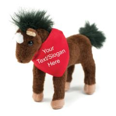 Personalised Teddy Bear - Poppy the Pony Horse Soft Toy Animal